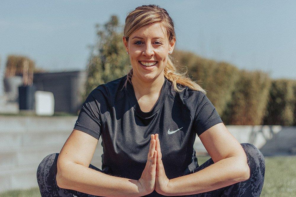 Jessica Rumpf Yoga Pose